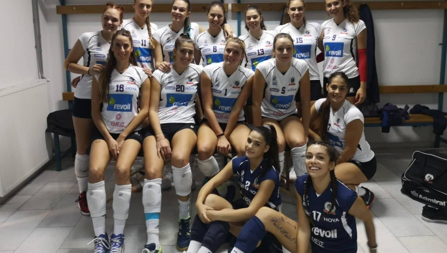 women volleyball gr